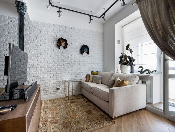 Дизайн-студия 'Вердиз' Industrial style living room