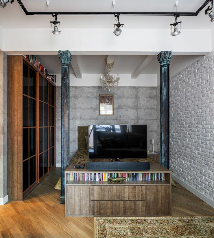 Дизайн-студия 'Вердиз' Industrial style bedroom