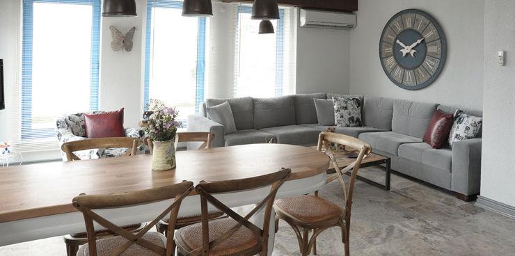 Filiz Ozcan Yaz Bilgece Tasarım Modern Oturma Odası