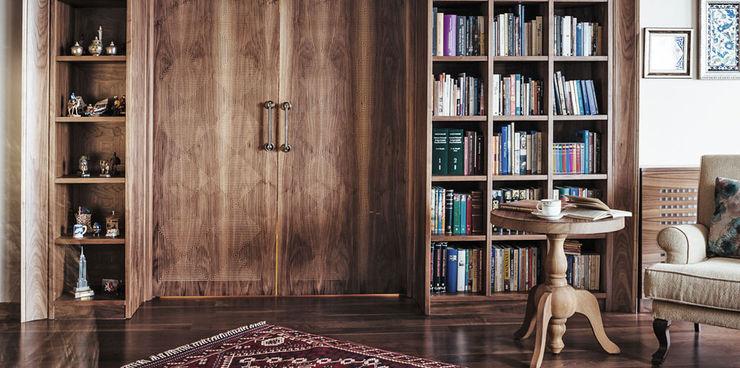 Gül & Emin Timur Bilgece Tasarım Modern Çalışma Odası