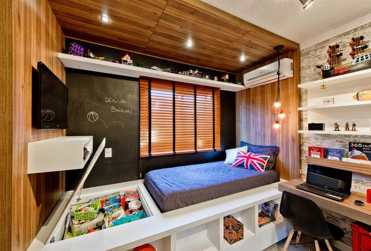 Espaço do Traço arquitetura インダストリアルデザインの 子供部屋