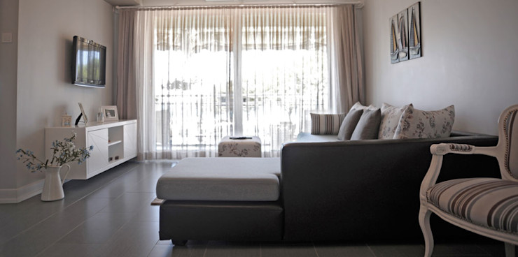 Sema & Harun Gökbayrak Bilgece Tasarım Modern Oturma Odası