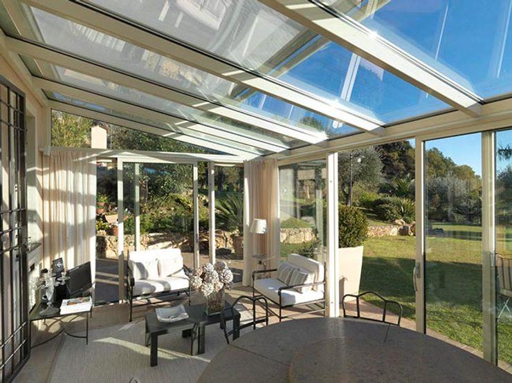 veranda SOLARIA homify Sedi per eventi moderne