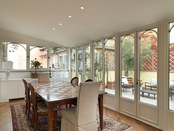 veranda ELEGANCE homify Giardino d'inverno in stile classico