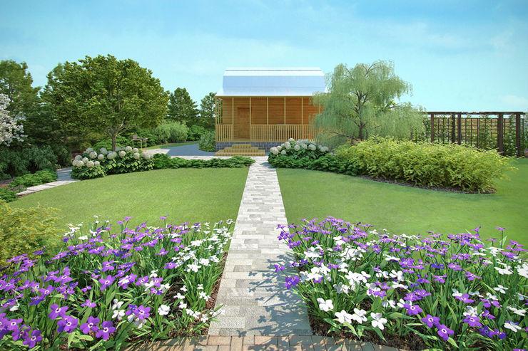 Руслан Михайлов rmgarden Country style garden