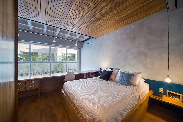 Casa100 Arquitetura Moderne Schlafzimmer