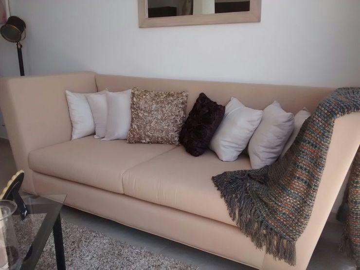 Sala Lennor Bianco Diseño SalonesSofás y sillones