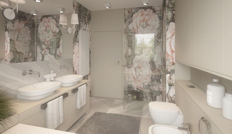 homify Minimalistyczna łazienka