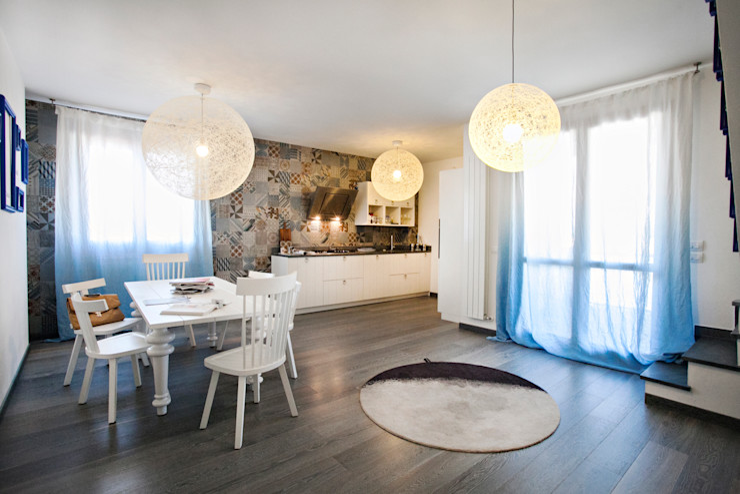 Alessandro Corina Interior Designer Mediterranean style dining room