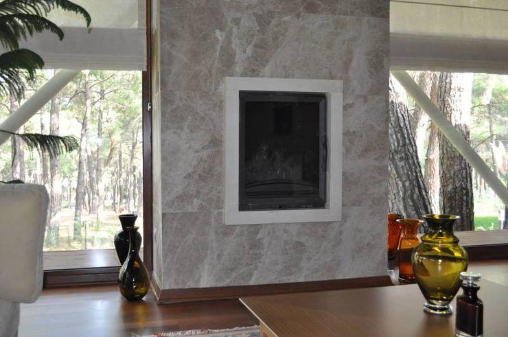 Somine Ege Mermer Granit Oturma OdasıŞömine & Aksesuarları