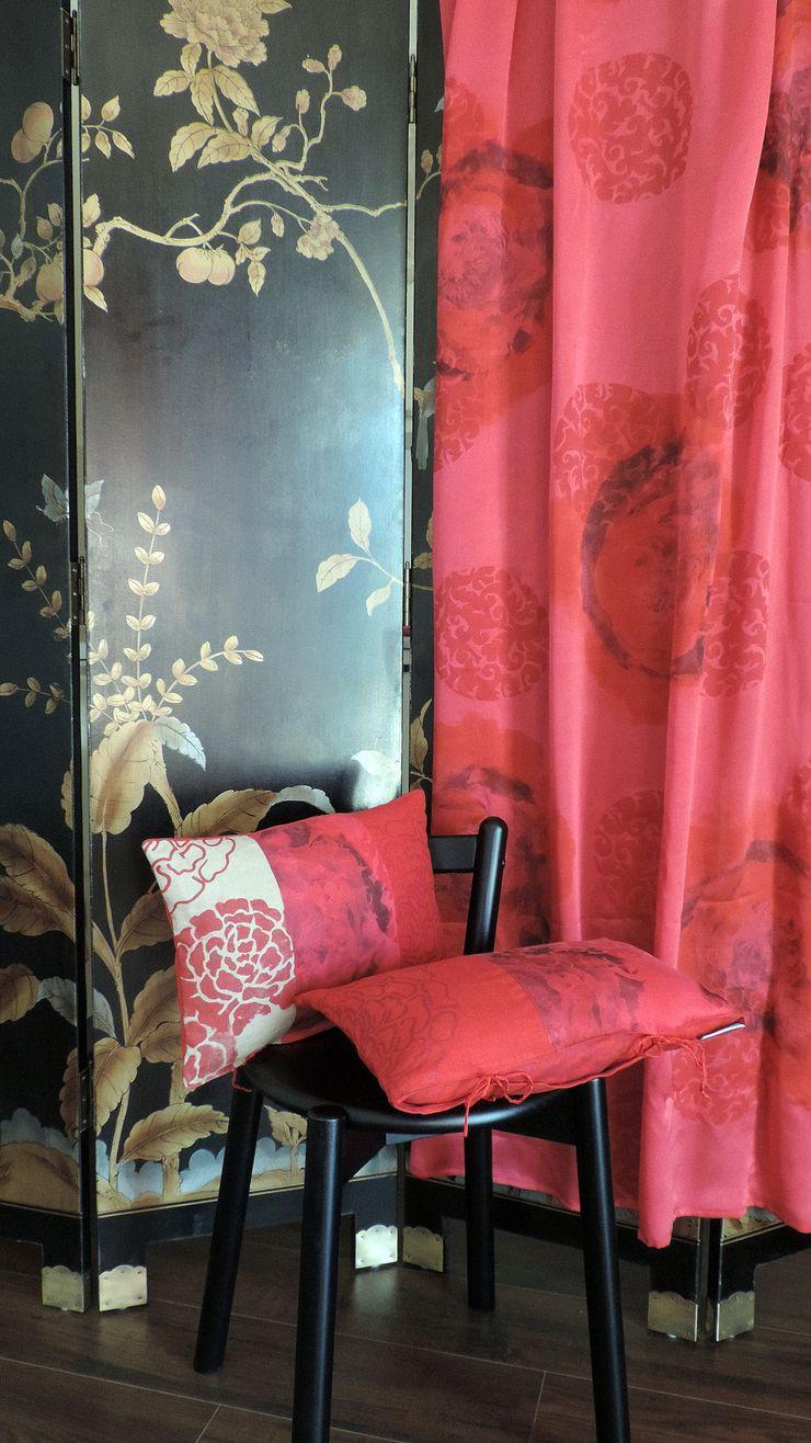 Aquamarine Design Eclectic style living room
