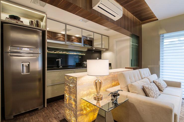 Ana Cristina Avila Arquitetura e Interiores Modern Living Room