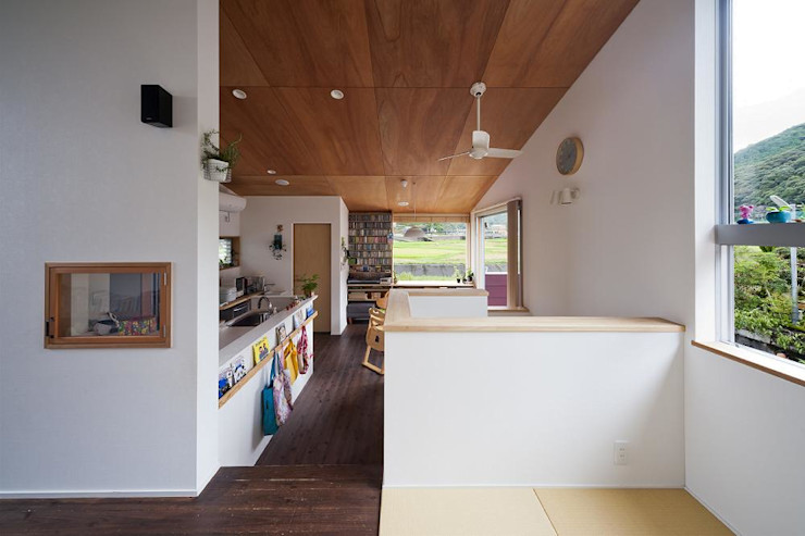 living(tatami space) キリコ設計事務所 Living room