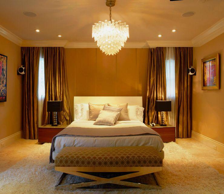 Dilido Island House-Miami Elías Arquitectura Dormitorios modernos