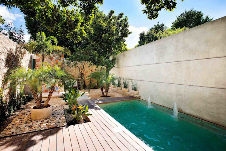 HPONCE ARQUITECTOS Modern pool