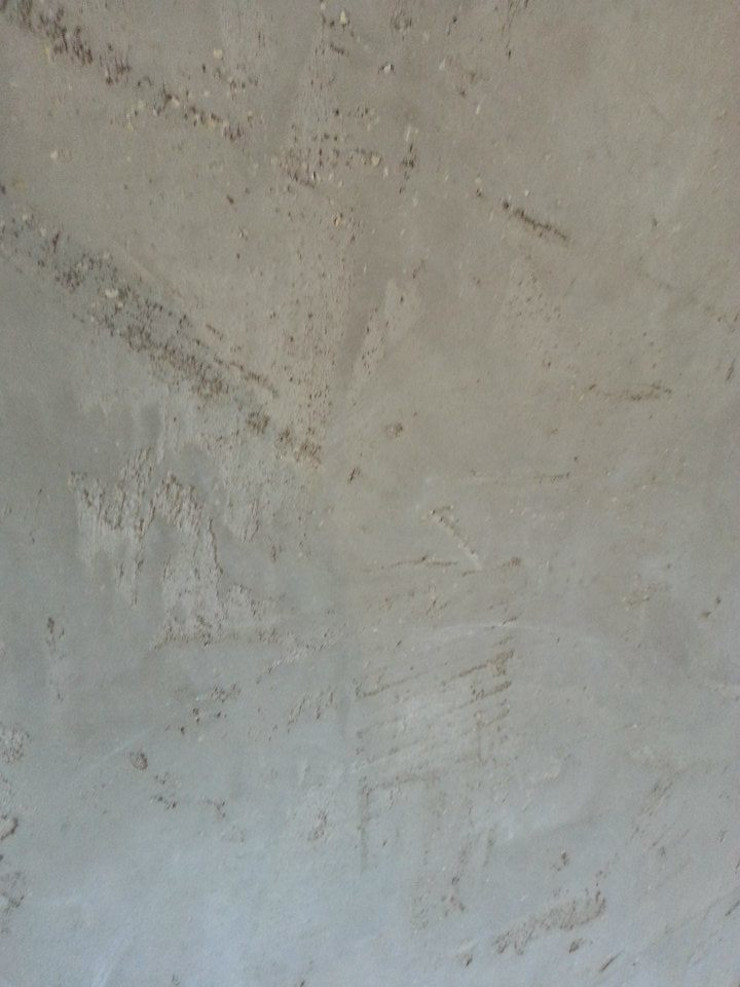 Spa und Bäder Fugenlose Mieneralischer putz Ulrich holz -Baddesign Moderne Badezimmer Grau
