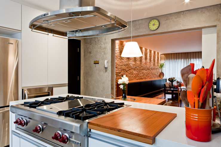 Ambienta Arquitetura Modern Mutfak