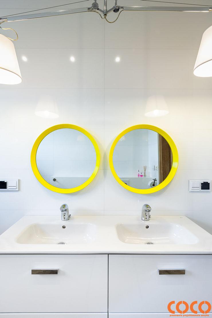 COCO Pracownia projektowania wnętrz Modern bathroom