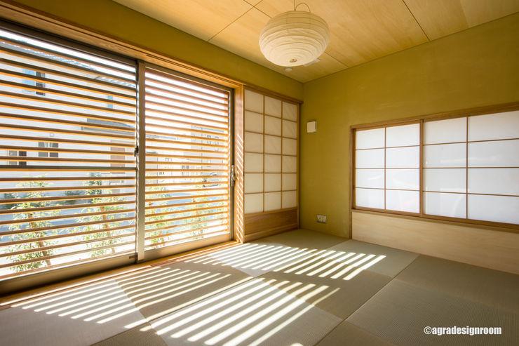 和室に求められるもの アグラ設計室一級建築士事務所 agra design room モダンスタイルの寝室
