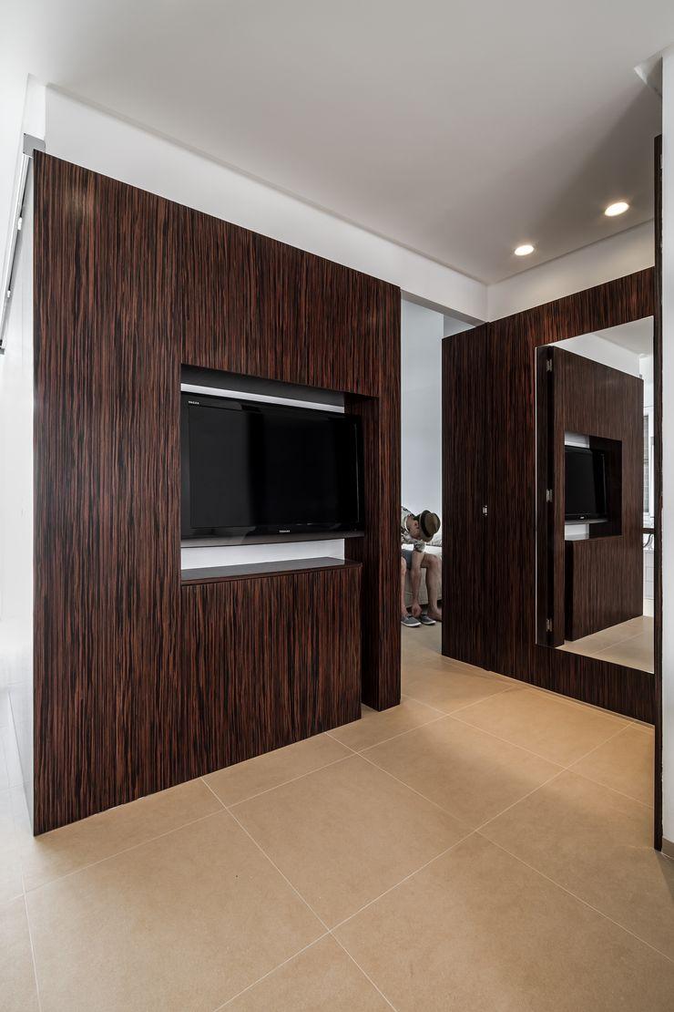 La casita del mar Selecta HOME Salones de estilo moderno