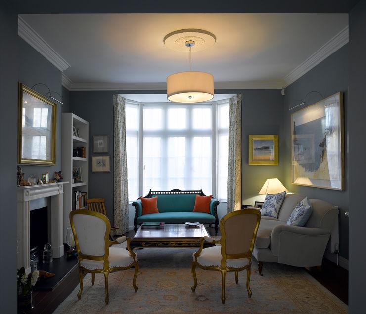 Park Village West Belsize Architects Klassische Wohnzimmer