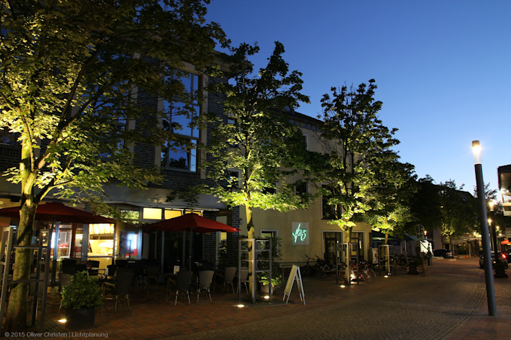 Obere Marktstraße OC Lichtplanung Moderner Garten