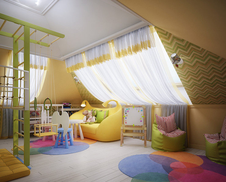 Инна Михайская Chambre d'enfant classique Multicolore