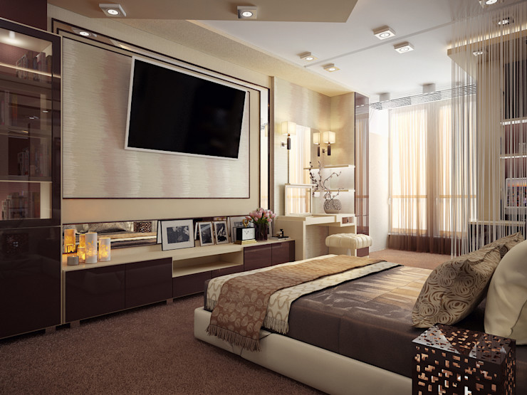 Инна Михайская Dormitorios modernos