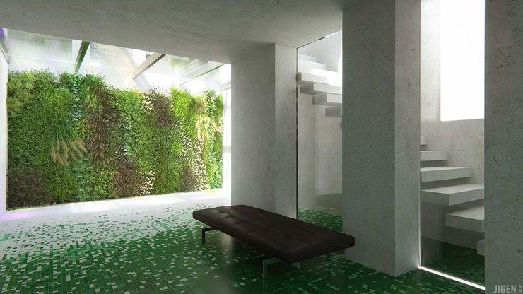 Visualisations 3d JIGEN Salon moderne