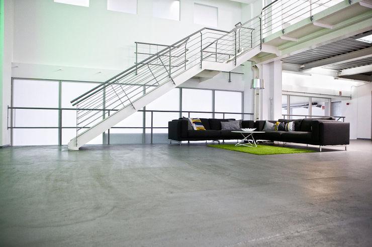 HelloFresh GmbH Sabine Oster Architektur & Innenarchitektur (Sabine Oster UG) Moderne Bürogebäude