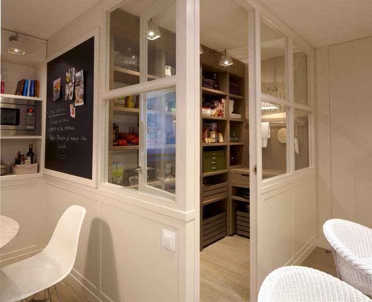 DEULONDER arquitectura domestica Кухня Білий