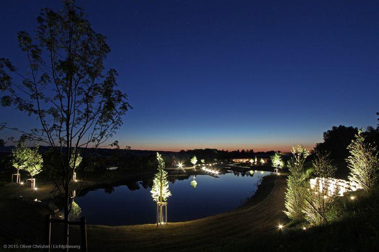 OC|Lichtplanung Mediterranean style garden