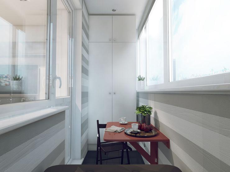 Volkovs studio Balcones y terrazas escandinavas