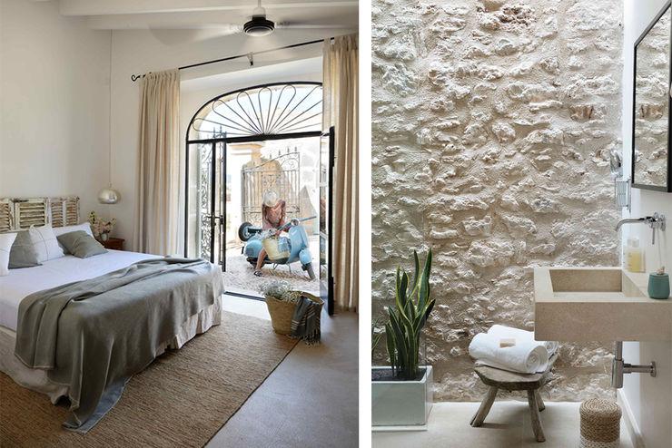 HOTEL CAL REIET – GUEST HOUSES Bloomint design Dormitorios mediterráneos