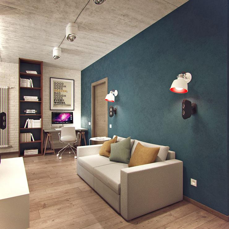 Студия дизайна Марии Губиной Living room