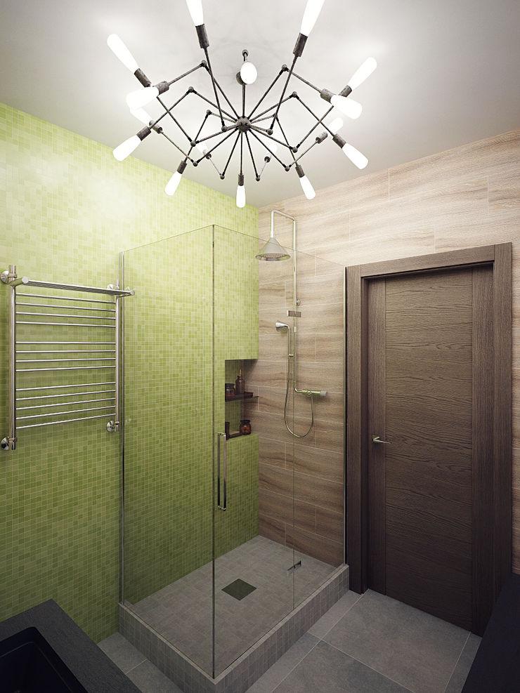 Студия дизайна Марии Губиной Industrial style bathroom