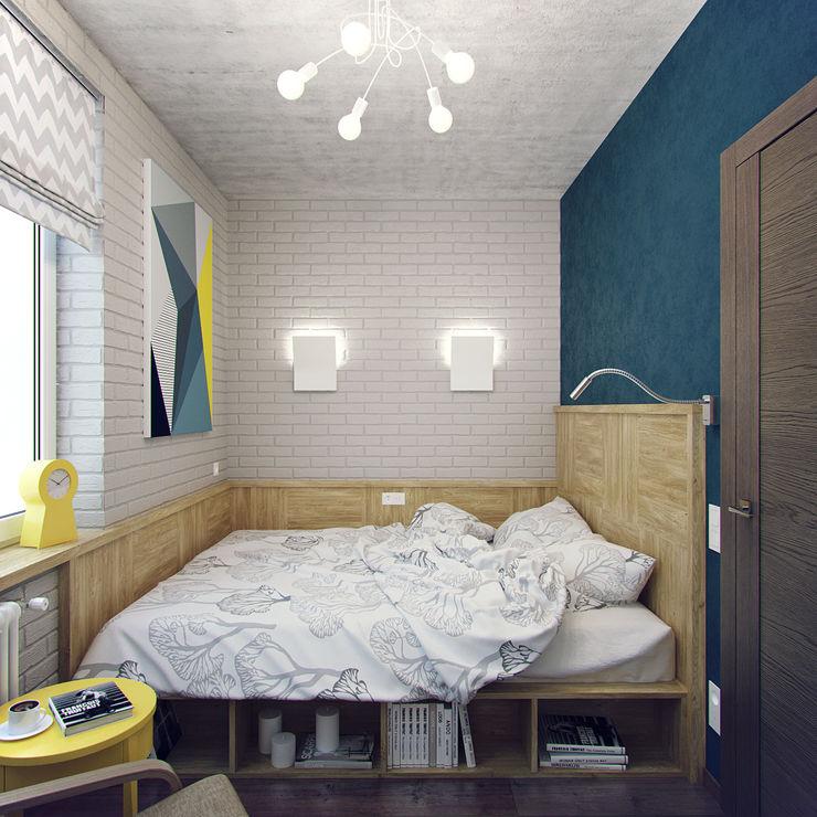 Студия дизайна Марии Губиной Habitaciones pequeñas