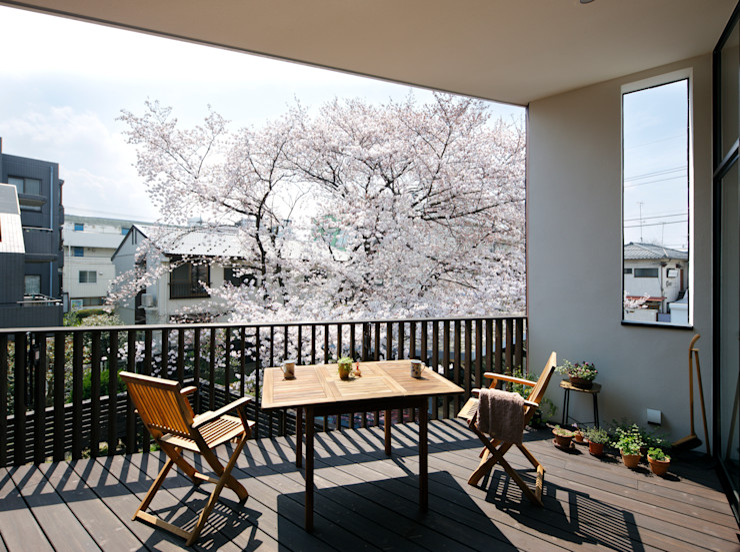 向山建築設計事務所 Modern Terrace