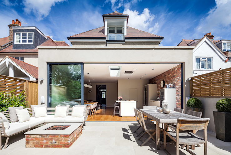 Ashley Road Concept Eight Architects Modern Terrace