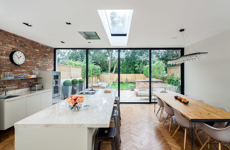 Ashley Road Concept Eight Architects Modern Dining Room