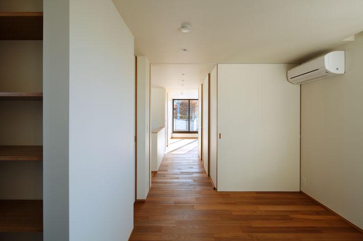 向山建築設計事務所 Modern style bedroom