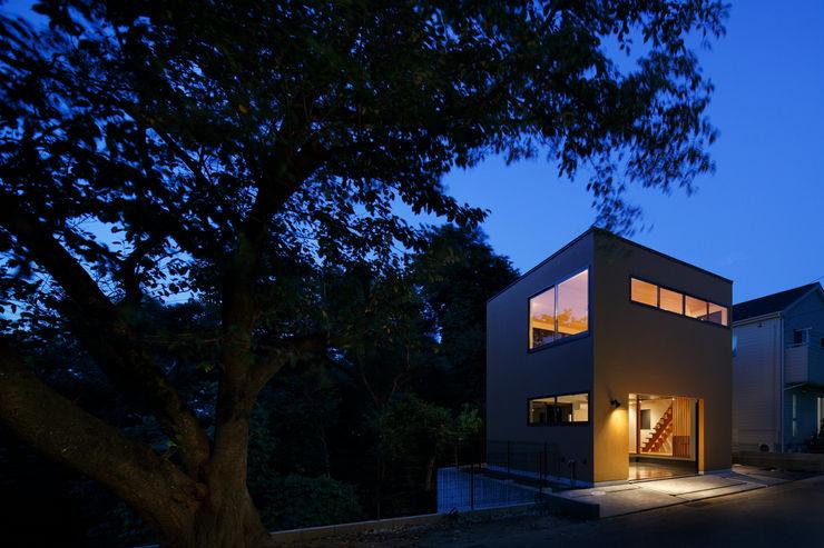 玉縄台の家 向山建築設計事務所 モダンな 家