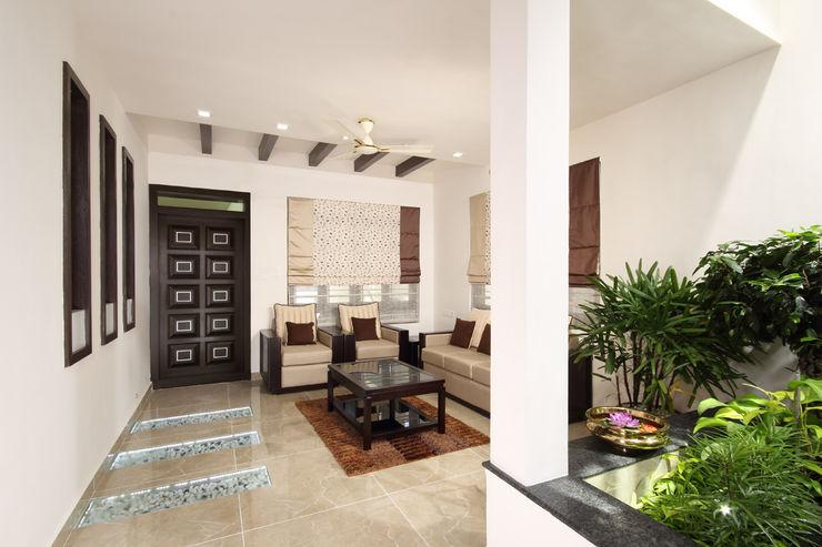 Sanskriti Architects Вітальня