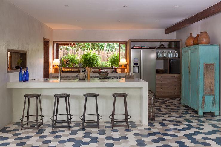 Vida de Vila Cocinas modernas Cerámico Multicolor
