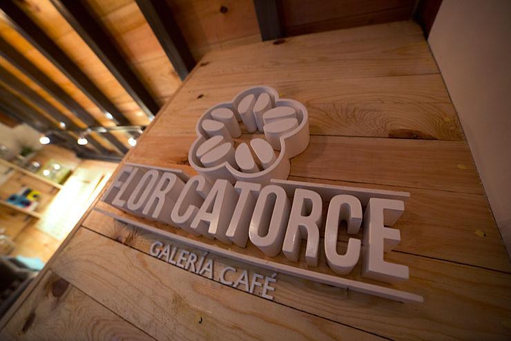 Flor Catorce Taller La Semilla Gastronomía de estilo moderno Acabado en madera