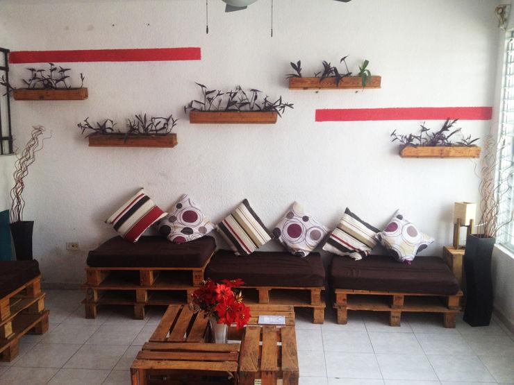 Punto Libre Arquitectura Living roomSofas & armchairs