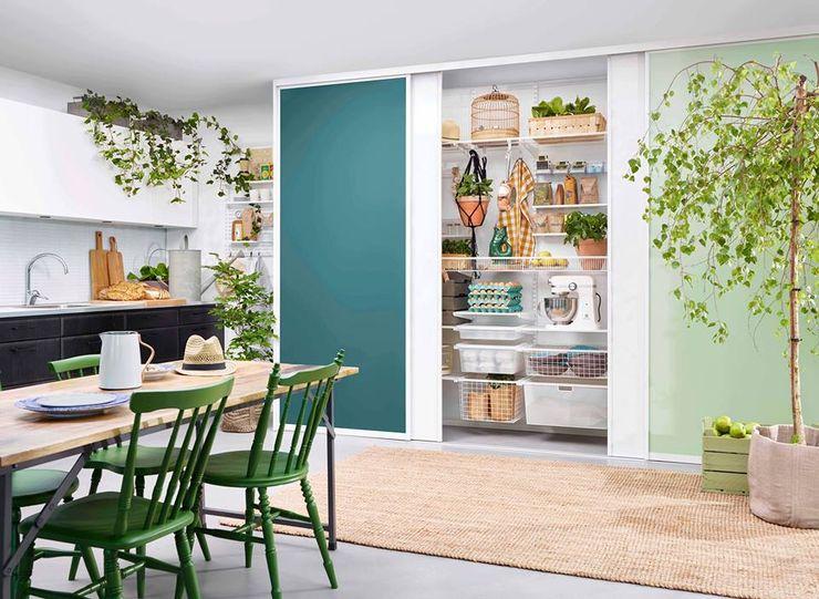 Das Auge isst mit! Elfa Deutschland GmbH Moderne Küchen Grün