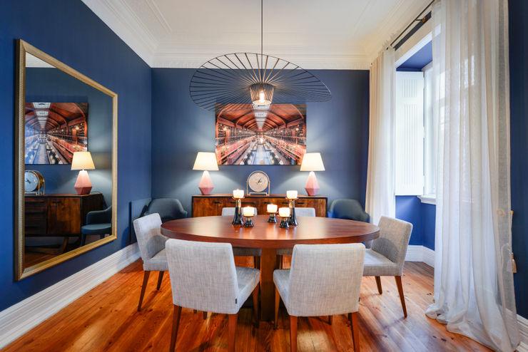LAVRADIO DESIGN Modern dining room Blue