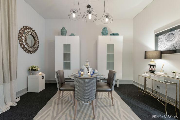 Preto Marfim Modern Dining Room