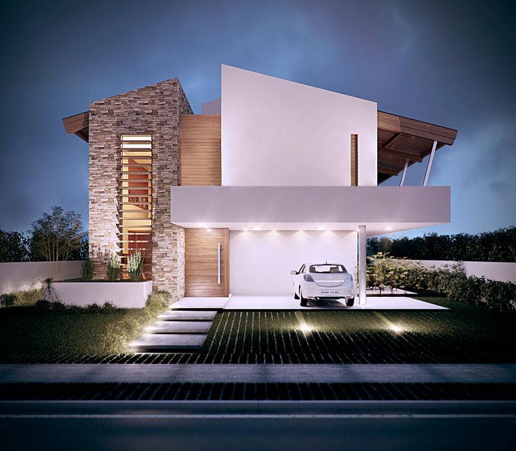 Martins Lucena Arquitetos Tropical style houses